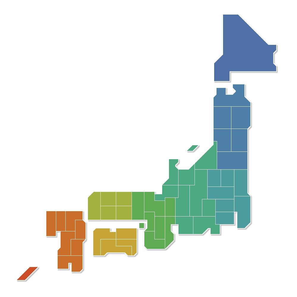宅配買取対応エリア(全国)